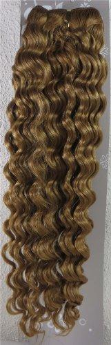 50,8 cm Blond Doré (# 16) trames de cheveux vierges brésiliens Remy ondulés – Tissage 100% Cheveux Humains vierges brut