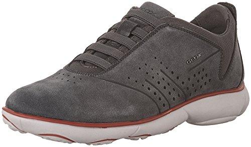 Uomo scarpa sportiva, color grigio , marca geox, modelo uomo scarpa sportiva geox u nebula grigio