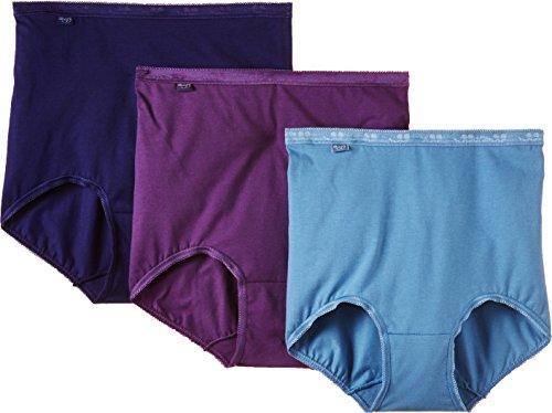 Sloggi Damen Taillenslip, Einfarbig Blau - Blue/Dark Combination