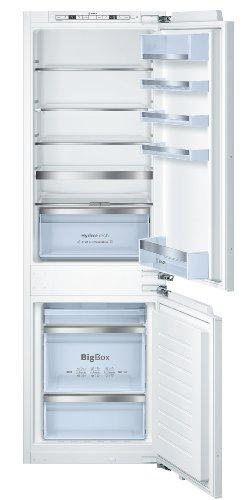 Bosch KIN86AD30 Serie 6 Einbau-Kühl-Gefrier-Kombination  A  Kühlen: 121 L  Gefrieren: 68 L  Weiß  NoFrost  Big Box