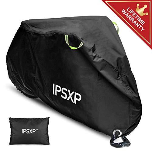 IPSXP Housse Protection Vélo, Exterieur Couverture Vélo avec Trous pour Antivols, pour jusqu'à 29...