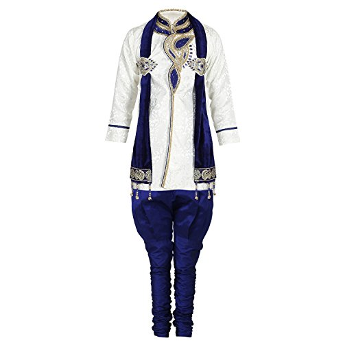 Ahhaaa Kid's Sherwani and Breeches for Boys (5-6 Years)