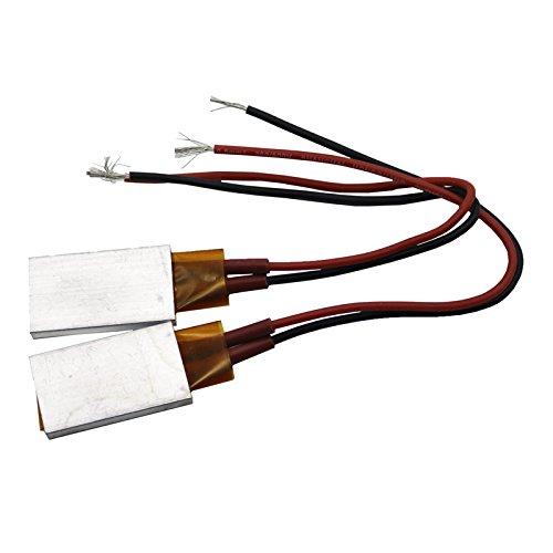Adhere To Fly 2 Pcs Heizelement Fön Zubehör, PTC Heizungen, Anwendbare Miniaturheizung (24V, 220 ° C)
