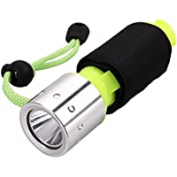 SaySure - Underwater 1800LM XM-L T6 LED Diving Flashlight