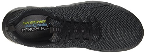Skechers Marauder, Sneaker Uomo Nero (Black)