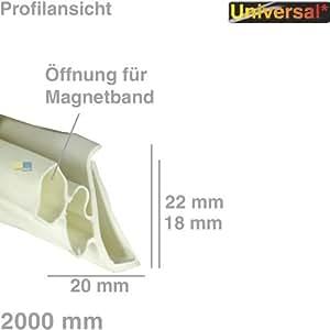 Daniplus © joint de porte universel pour réfrigérateur 1 côté 2 m - 1534 sEAL