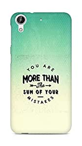AMEZ you are more than the sum of your mistakes Back Cover For HTC Desire 626 G