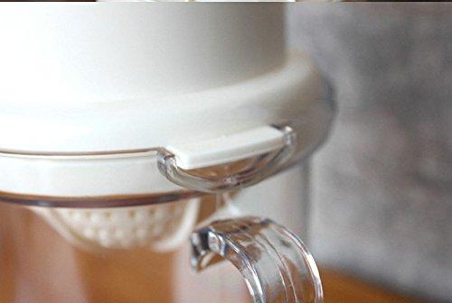 Tailcas® Fashionable Küchen 2 in1 Multi Funktions Manuelle Handpresse Orangen, Grapefruit, Zitrone, Kiwi, Citrus,Wassermelone, Erdbeere, mango Squeezer Saft Entsafter Saftpresse Zitronenpresse Orangenpresse mit Auffangbehälter - 4