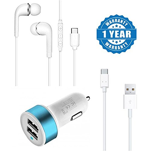 Captcha Xiaomi Redmi 4A compatible Stereo Quality Letv earphone & top quaity type c cable with innovative dual usb port car charger (One Year Warranty) 41jUWkCnmxL