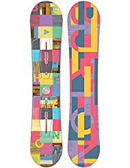 Burton Feather de snowboard, mujer, Snowboard FEATHER, No Color, 152