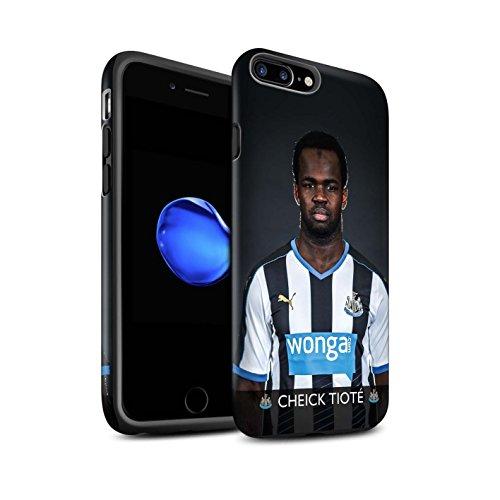 Offiziell Newcastle United FC Hülle / Matte Harten Stoßfest Case für Apple iPhone 7 Plus / Ayoze Muster / NUFC Fussballspieler 15/16 Kollektion Tioté