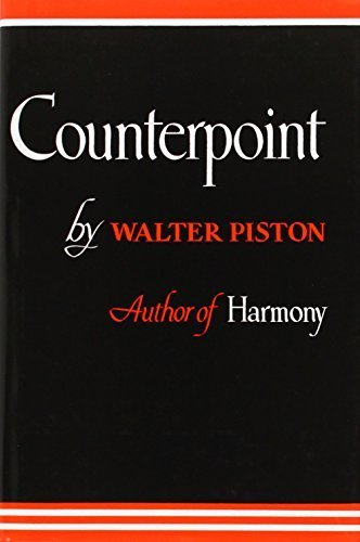 Counterpoint 1st edition by Walter Piston (1947) Hardcover