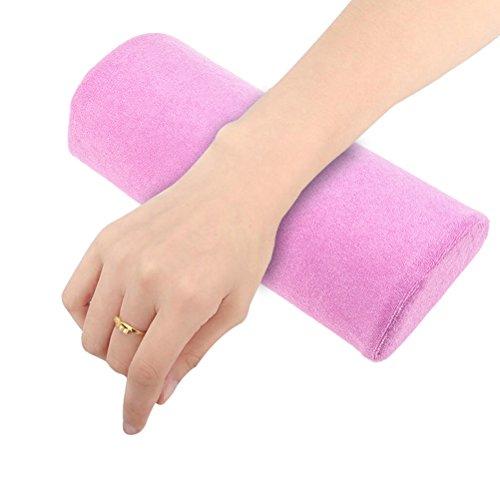 7thlake Weich Nail Art Hand Halter Kissen Kissen Nail Arm Handtuch Rest Maniküre Make-up Kosmetik Werkzeug (Maniküre Handtücher)