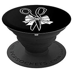 Friseur Design Damen | Geschenk Meister Gesellin - PopSockets Ausziehbarer Sockel und Griff für Smartphones und Tablets