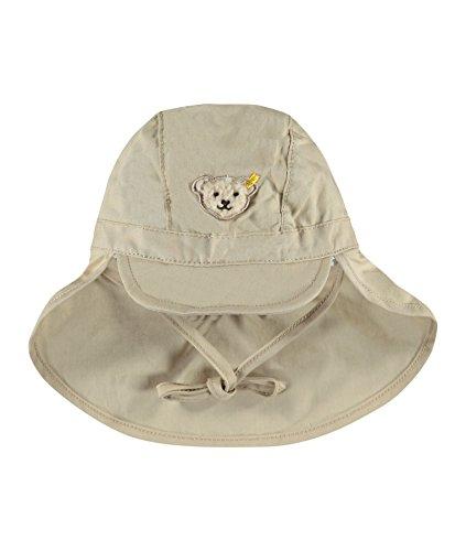 Steiff Baby-Jungen Mütze mit Schirm, Braun (Oxford Tan 6010), 45 (Herstellergröße:45)