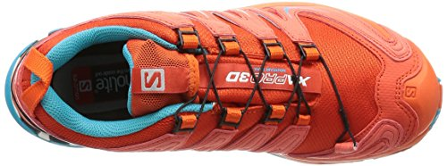 Salomon XA Pro 3D Gore-Tex Women's Chaussure Course Trial - AW16 red