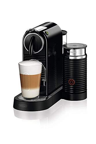 De\'Longhi Nespresso EN267.BAE Citiz Kaffemaschine | Hochdruckpumpe und perfekte Wärmeregelung | Energiesparfunktion | Integrierter Aeroccino-Milchaufschäumer | schwarz