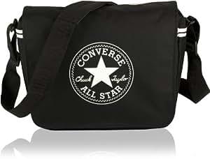 Converse Flapbag Courier Zip, black, 9.86 liter, 99con80-62