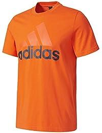 adidas Ess Linear Tee Camiseta, Hombre, Multicolor (Energi), L