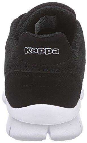 Kappa Note K, Baskets Basses Mixte Enfant Noir (Black/white)