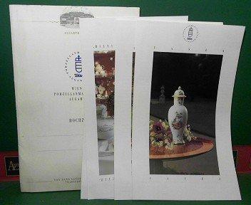 Wiener Porzellanmanufaktur Augarten - Hochzeit (= Mappe mit den Prospekten: Vasen, Speise-Service...