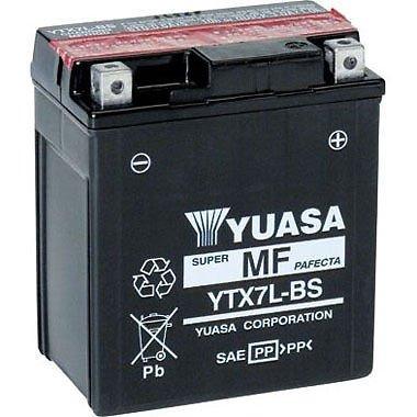 BATTERIA YTX7L-BS YUASA/GS ORIGINALE HONDA SH HORNET