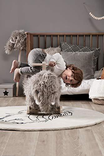 Kids Concept 413761 Schaukelpferd NEO Mammut – Schaukeltier ab 18 Monate - 3