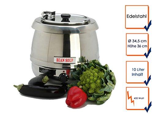 Professionnel-en-acier-inoxydable-marmite--soupe-lectrique-10-litres-400-watt-hauteur-345-cm-36-cm-sT-100INOX-gGG