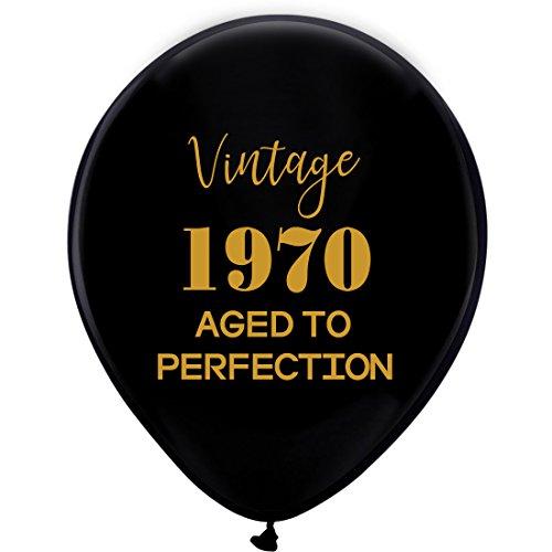 Luftballons-30,5cm (16) Damen und Herren Gold 48. Geburtstag Party Dekorationen oder Supplies ()