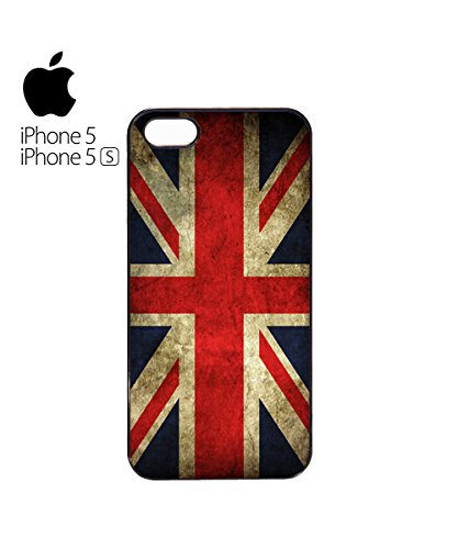 England Flag Vintage Retro United Kingdom Union Jack Mobile Phone Case Cover iPhone 6 Plus + White Blanc