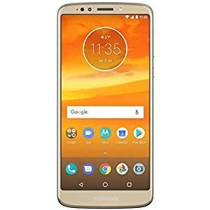 Moto E5 Plus (Fine Gold, 5000mAh Battery)
