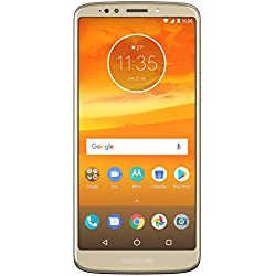 Moto E5 Plus (Fine Gold, 5000mAh Battery)