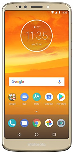 Moto E5 Plus (Fine Gold, 5000 mAh battery)