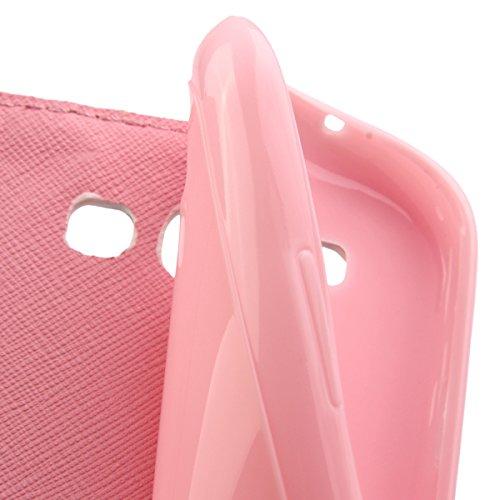 Coque pour Samsung Galaxy S3, ISAKEN Élégant Style PU Cuir Flip Magnétique Portefeuille Etui Housse de Protection Coque Étui Case Cover avec Stand Support pour Samsung Galaxy S3 SIII I9300 (#24) #22