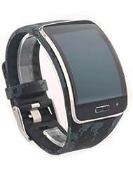 VAN-LUCKY Multi Color Opcional Correa de reloj para samsung Galaxy Gear S pulsera R750