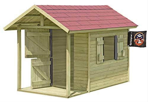 Gartenpirat® Spielhaus Louis thumbnail