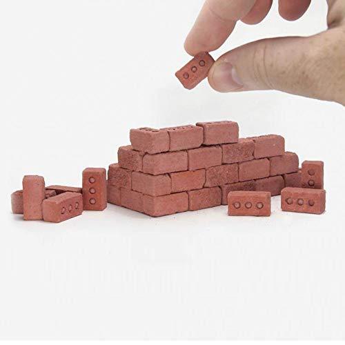 MA87 Lehr Klasse Wand Zement Spielzeug Neue 24 Stücke Mini Zement Cinder Ziegel Steine Bauen Sie Ihre Kleinen Wand Mini Rote Ziegel - Fisher Price 3 Stück