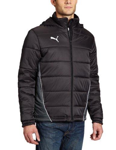 Puma Herren Jacke Padded Jacket Black/Dark Shadow, XXL -