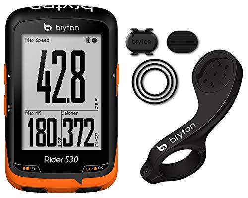 Bryton Rider 530C, Computer Gps con Sensore di Cadenza, Unisex - Adulto, Nero, M