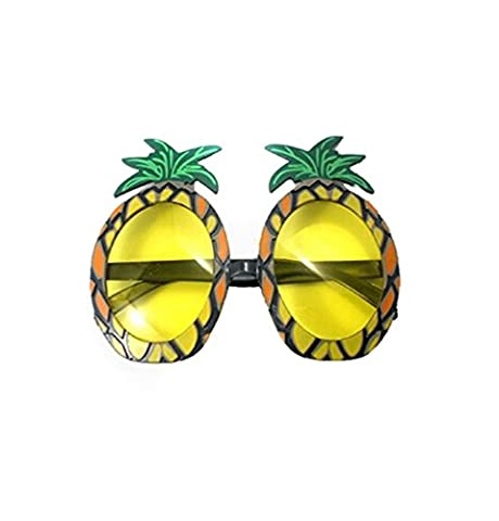 VWH Ananas-Sonnenbrille-Gläser Specs Hawaiianischen Hula Fancy Dress Up Kostüm