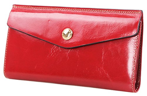 lh-saierlongr-womens-bifold-wallet-red-wax-genuine-leather-wallets