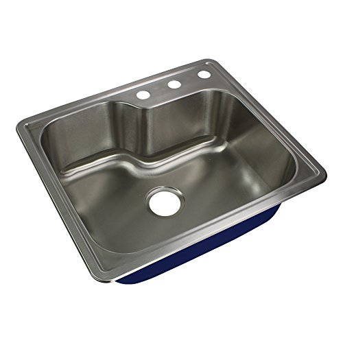 Transolid MTSO25229-3 Kitchen Sink, Stainless Steel