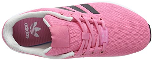 adidas Unisex-Kinder Zx Flux Sneaker Pink (Easy Pink/Core Black/Ftwr White)