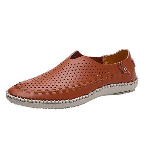 RYTEJFES-Sneaker Business-Schuhe Herren Lederschuhe Casual Elegante Arbeitsschuhe Leichte Bequem Freizeitschuhe Männer Elegante Outdoorschuhe Shoes