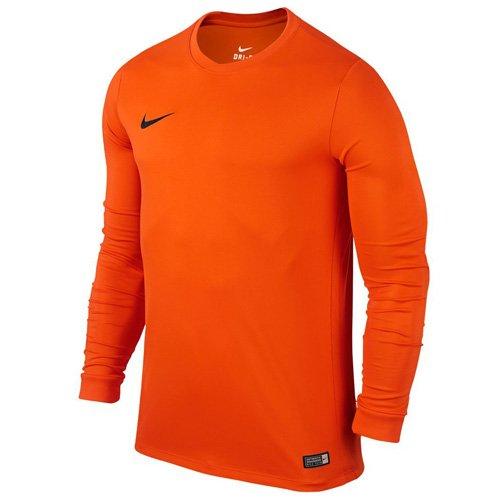 Nike Ls Park Vi Jsy, Maglietta a maniche lunghe da uomo, Arancione (Safety Orange/Black), M
