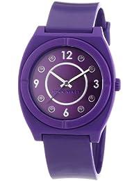 Miss Sixty Damen-Armbanduhr Vintage Analog Plastik R0751110506