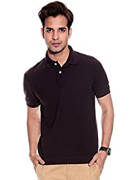 Double F Men's Regular Fit T-Shirt (350pGBrn, Brown, XX-Large)