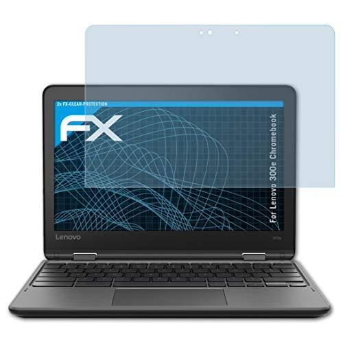 atFoliX Film Protection d'écran Compatible avec Lenovo 300e Chromebook Protecteur d'écran, Ultra-Clair FX Écran Protecteur (2X)