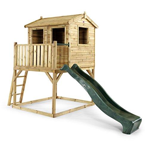 Pflaume 298x 188x 285cm Holz Adventure Playhouse (Natur)