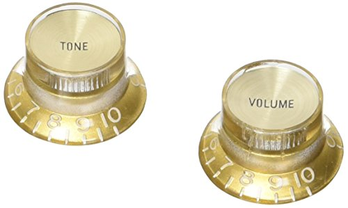 PRMK-030 Top Hat Knob Gold Set 4 St Metalleinlage Gold